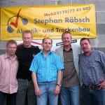 Borussia Derschlag Richtfest Vereinsheim